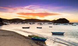 Sunset in Buzios Rio de Janeiro Stock Photos