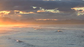 Sunset Byron Bay stock footage