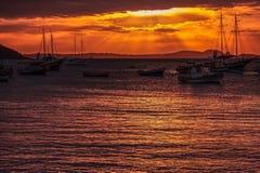 Sunset at Búzios Stock Photography