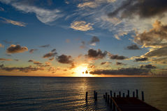 Sunset in Cabo Rojo Royalty Free Stock Images