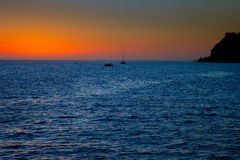 Sunset in Cabo San Lucas Royalty Free Stock Photo