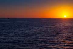Sunset in Cabo San Lucas Royalty Free Stock Image