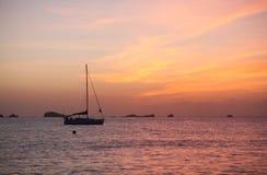 Sunset at Cala Comte, ibiza Stock Photo