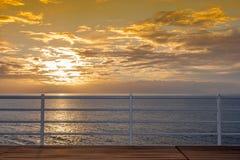 Sunset - canary island Gomera - Tenerife Stock Image