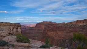Sunset at Canyonlands National Park Royalty Free Stock Image