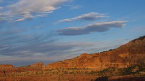 Sunset at Canyonlands National Park Royalty Free Stock Images