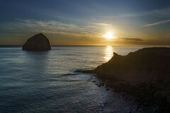 Sunset at Cape Kiwanda State Natural Area