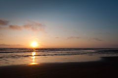 Sunset at Cape Lookout Royalty Free Stock Images
