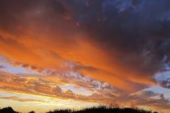 Sunset at Cape Range National Park, Western Australia Stock Photos