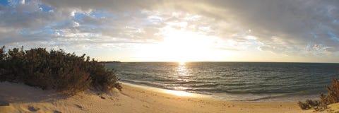 Sunset at Cape Range National Park, Western Australia Stock Photo