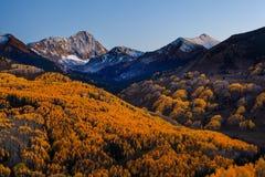 Sunset at Capital Peak Royalty Free Stock Photos