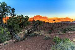 Sunset at Capitol Reef royalty free stock images