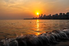 Sunset capture royalty free stock images
