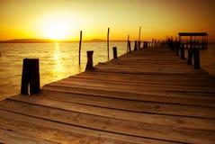 Sunset at Carrasqueira Stock Photo