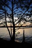 Sunset at Cave Run Lake Kentucky USA Royalty Free Stock Photos