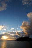 Sunset Chapmans Peak Royalty Free Stock Photos