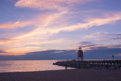 Sunset at Charlevoix Stock Photos