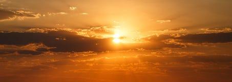 Sunset - Chobe N.P. Botswana, Africa stock images