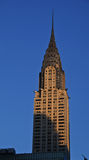 Sunset on Chrysler building Stock Image