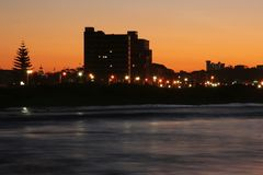 Sunset City Stock Images