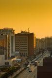Sunset City Stock Photo