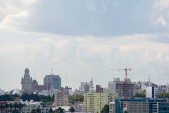 Cityscape in Montevideo, Uruguay stock image