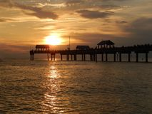 Sunset in Clearwater Stock Photos