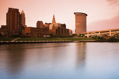 Sunset in Cleveland Stock Images