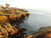 Sunset Cliffs Royalty Free Stock Images