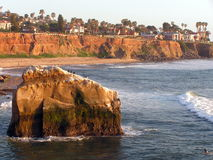 Sunset Cliffs Royalty Free Stock Photography