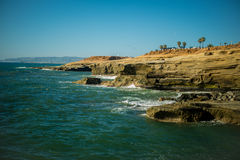 Sunset cliffs Royalty Free Stock Photos