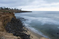 Sunset Cliffs, San Diego Stock Photo