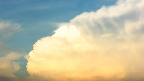 Sunset cloud. Blur sunset cloud and sky Royalty Free Stock Images