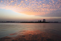 The sunset cloud Royalty Free Stock Images