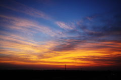 Sunset Clouds Royalty Free Stock Photo