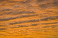 Sunset Clouds background Stock Images