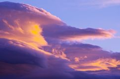 Sunset clouds Royalty Free Stock Images