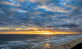Sunset and Clouds in South Africa Stock Image