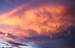 Sunset clouds Stock Image