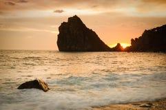 Sunset Coast Stock Image