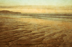 Sunset on coast Royalty Free Stock Photo