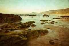 Sunset on coast Royalty Free Stock Images