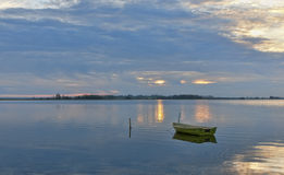 Sunset at the Coast - 2675 Royalty Free Stock Photo