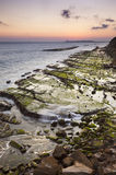 Sunset on the coast of Tarifa Royalty Free Stock Images