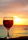Sunset Cocktail Stock Photos