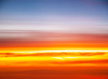 Sunset colors Stock Images
