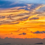 Sunset Colors Stock Photography