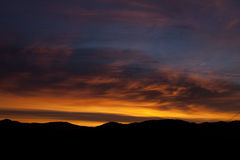 Sunset colors Royalty Free Stock Photo