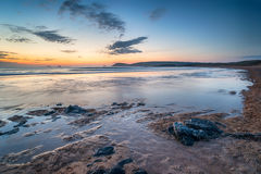 Sunset at Constantine Bay Royalty Free Stock Photo