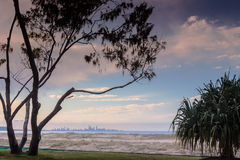 Sunset In Coolangatta Royalty Free Stock Photo